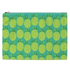 Pineapples Cosmetic Bag (XXL)  by olgart