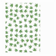 Marijuana Pattern Large Garden Flag (Two Sides)