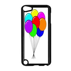 Colorful Balloons Apple iPod Touch 5 Case (Black) by Valentinaart