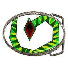 Decorative Snake Belt Buckles by Valentinaart