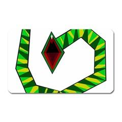 Decorative Snake Magnet (rectangular) by Valentinaart