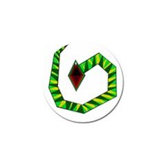 Decorative Snake Golf Ball Marker (4 Pack) by Valentinaart