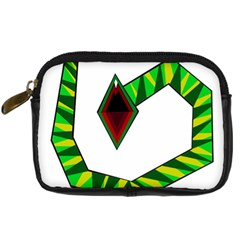 Decorative Snake Digital Camera Cases by Valentinaart