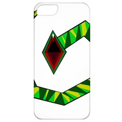 Decorative Snake Apple Iphone 5 Classic Hardshell Case by Valentinaart