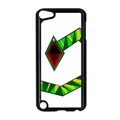 Decorative Snake Apple Ipod Touch 5 Case (black) by Valentinaart