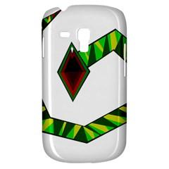 Decorative Snake Samsung Galaxy S3 Mini I8190 Hardshell Case by Valentinaart