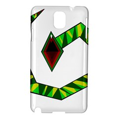 Decorative Snake Samsung Galaxy Note 3 N9005 Hardshell Case by Valentinaart