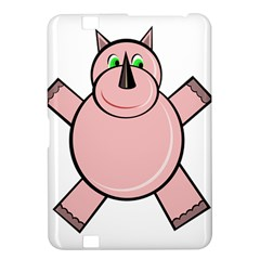 Pink Rhino Kindle Fire Hd 8 9  by Valentinaart