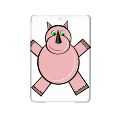 Pink Rhino Ipad Mini 2 Hardshell Cases by Valentinaart