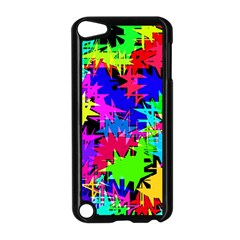 Colorful Shapes                                                                             apple Ipod Touch 5 Case (black) by LalyLauraFLM