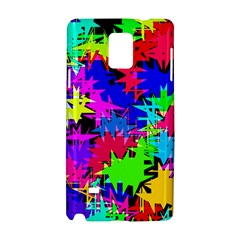 Colorful Shapes                                                                             samsung Galaxy Note 4 Hardshell Case by LalyLauraFLM