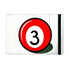 Billiard ball number 3 iPad Mini 2 Flip Cases by Valentinaart