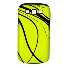 Yellow Decorative Design Samsung Galaxy S Iii Classic Hardshell Case (pc+silicone) by Valentinaart