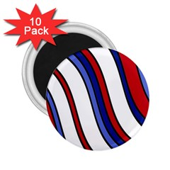 Decorative Lines 2.25  Magnets (10 pack)  by Valentinaart