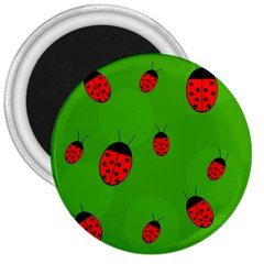 Ladybugs 3  Magnets by Valentinaart