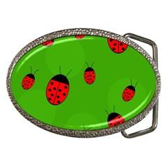 Ladybugs Belt Buckles by Valentinaart