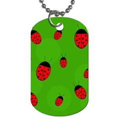 Ladybugs Dog Tag (two Sides) by Valentinaart