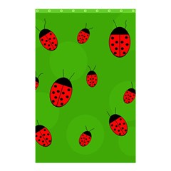 Ladybugs Shower Curtain 48  X 72  (small)  by Valentinaart
