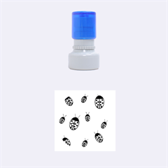Ladybugs Rubber Round Stamps (small) by Valentinaart