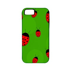 Ladybugs Apple Iphone 5 Classic Hardshell Case (pc+silicone) by Valentinaart