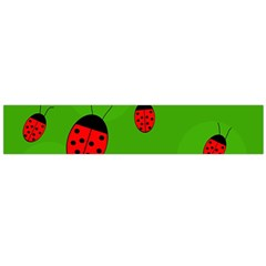 Ladybugs Flano Scarf (large) by Valentinaart