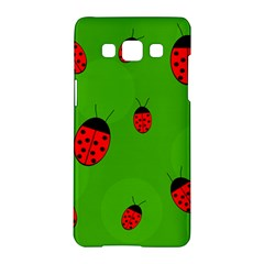 Ladybugs Samsung Galaxy A5 Hardshell Case  by Valentinaart
