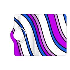 Purple Lines Kindle Fire Hd (2013) Flip 360 Case by Valentinaart