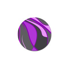 Purple Elegant Lines Golf Ball Marker (10 Pack) by Valentinaart