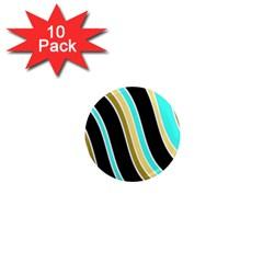 Elegant Lines 1  Mini Magnet (10 Pack)  by Valentinaart