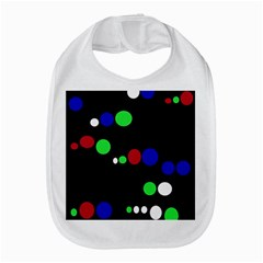 Colorful Dots Bib by Valentinaart