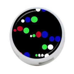 Colorful Dots 4 Port Usb Hub (two Sides)  by Valentinaart
