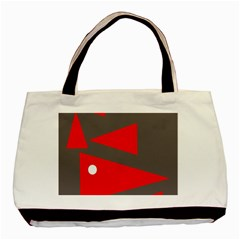 Decorative Abstraction Basic Tote Bag by Valentinaart