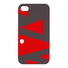 Decorative Abstraction Apple Iphone 4/4s Premium Hardshell Case by Valentinaart