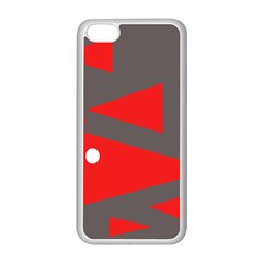 Decorative Abstraction Apple Iphone 5c Seamless Case (white) by Valentinaart
