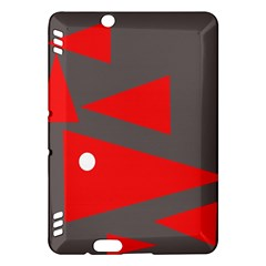 Decorative Abstraction Kindle Fire Hdx Hardshell Case by Valentinaart