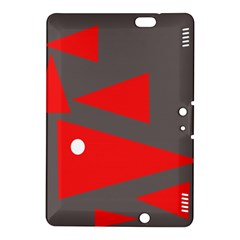Decorative Abstraction Kindle Fire Hdx 8 9  Hardshell Case by Valentinaart