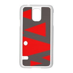 Decorative Abstraction Samsung Galaxy S5 Case (white) by Valentinaart