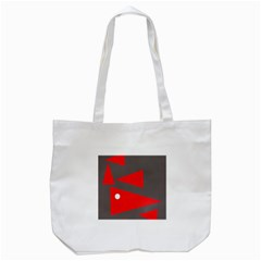 Decorative Abstraction Tote Bag (white) by Valentinaart