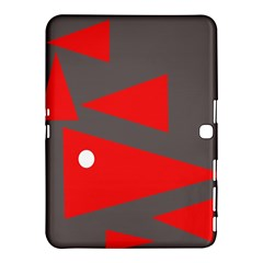 Decorative Abstraction Samsung Galaxy Tab 4 (10 1 ) Hardshell Case  by Valentinaart