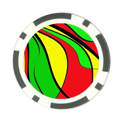 Colors Of Jamaica Poker Chip Card Guards (10 Pack)  by Valentinaart