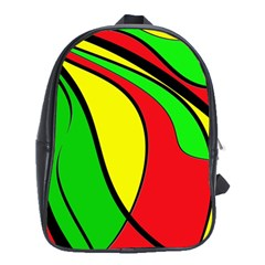 Colors Of Jamaica School Bags (xl)  by Valentinaart