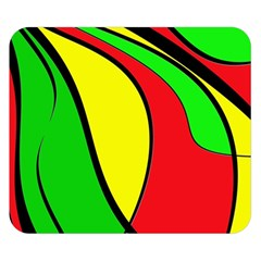 Colors Of Jamaica Double Sided Flano Blanket (Small)  by Valentinaart