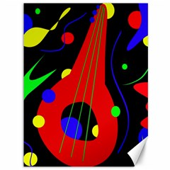Abstract guitar  Canvas 36  x 48   by Valentinaart