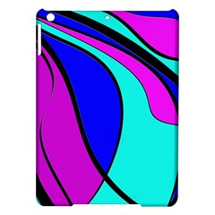 Purple And Blue Ipad Air Hardshell Cases by Valentinaart