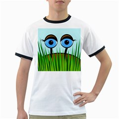 Snail Ringer T Shirts by Valentinaart