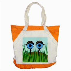 Snail Accent Tote Bag by Valentinaart