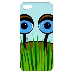 Snail Apple Iphone 5 Hardshell Case by Valentinaart