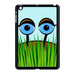 Snail Apple Ipad Mini Case (black) by Valentinaart