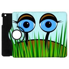 Snail Apple Ipad Mini Flip 360 Case by Valentinaart