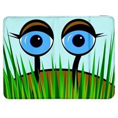 Snail Samsung Galaxy Tab 7  P1000 Flip Case by Valentinaart